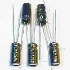 5pcs 47uf 50v Panasonic Fc Low Impedance Radial 105c Capacitors Low Esr Caps