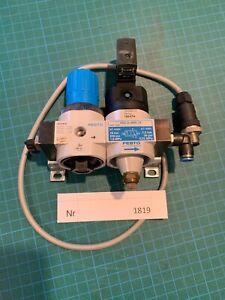 Festo Wartungseinheit  HEE-D-Mini-24 + LR-D-Mini  Nr 165074+ 159624