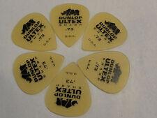 DUNLOP 433 ULTEX SHARP  .73 MM GUITAR PICKS MADE IN THE USA 6 PICKS