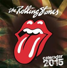SALE !! SALE !! ROLLING STONES OFFICIAL 2015 UK SQUARE WALL CALENDAR