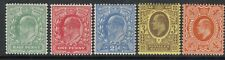 GB KEVII 1902 Definitive Set Perf 15 x 14 SG279-286 -Mounted mint & MNH
