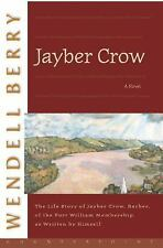 Port William: Jayber Crow The Life Story by Wendell Berry NF / VG+ SC free SHIP