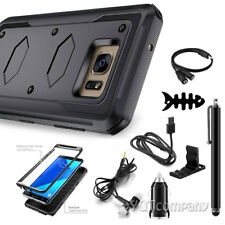 REFINED ARMOR Rugged Shockproof Protective Slim Cellphone Case Cover+Accessories