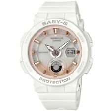 Casio Baby-G Quartz White Dial Resin Strap Ladies Watch BGA-250-7A2ER