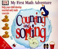 My First Math Adventure Sorting & Counting Pc New Cd Rom In Paper Sleeve XP