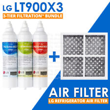 LG GENUINE 3 TIER FILTRATION LT900X3 BUNDLE ADQ73753313 with LG AIR FILTER