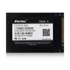 """Zheino SSD 2.5"""" IDE PATA 32GB for IBM X32,T43,R51,V80,R60 DELL D810 HP V2000"""