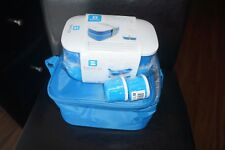 New listing New Blue Bentgo Lunch Bag,Lunch box,Dressing Containers