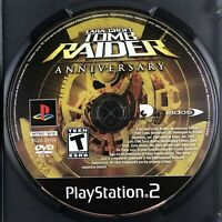 Lara Croft: Tomb Raider Anniversary (Sony PlayStation 2, 2007) Disc Only