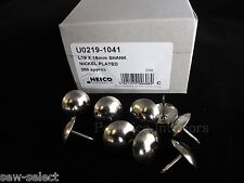 50 LARGE 19mm UPHOLSTERY NAILS L19 Silver Nickel chrome domed head Big pin studs