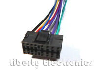 New 16 Pin AUTO STEREO WIRE HARNESS PLUG for JVC KD-S30 / KD-S33 / KD-S34