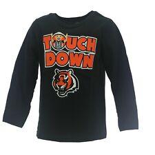Cincinnati Bengals Official NFL Apparel Infant Toddler Size Long Sleeve Shirt