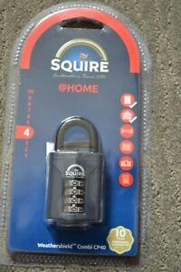 Squire CP40 Recodable Combination Locks BNiP