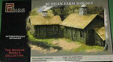 Pegasus Hobbies 1/72nd Russian Farm Houses Plastic Model Kit 7702 NEW!
