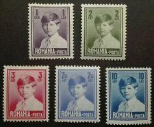 ROMANIA-RUMUNIA STAMPS MLH - King Mihai, 1928, *