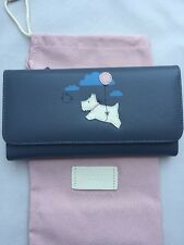 Radley Chocks Away Large Purse RRP£75 100% Leather With Dust Bag