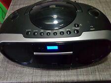 Medion MD84778 CD Radio Kassetten Boombox großer tragbarer CD Radiorecorder,USB