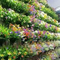 Outdoor Artificial Flower Fake False Plants Grass Gypsophila Garden Home Decors