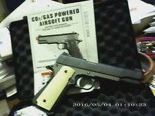 COLT 1911/45 G199 WELL FULL METAL 6.MM ,OLD STYLE SERIES, BLOW BACK CO2 .!