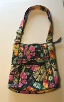 Vera Bradley Hipster Jazzy Blooms Crossbody/Shoulder Bag Purse Handbag
