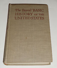 The Beards' Basic History of the United States (Rare, 1944)  Charles A & Mary R