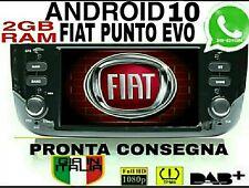 AUTORADIO ANDROID 10 Wi-FI FIAT PUNTO EVO  2gb RAM DSP AUDIO navigatore USB