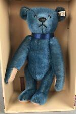 "Vintage Steiff Club Blue Bear 1908 Replica 420047 1994 14"" LE 3146/xxxx COA NIB"