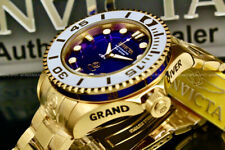 NEW Invicta GRAND DIVER Gen IIAUTOMATIC NH35 18 K Gold Plated S.S Bracelet Watch