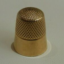 Antique 14K Yellow Gold Sewing Thimble - 4.9 Grams!