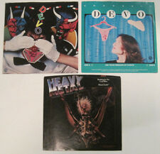 LOT of 3 DEVO 45 rpm Picture Sleeves (Only - NO 45s)