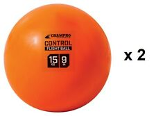 "Champro Baseball Weighted Control Flight Training Balls 15 oz. 9"" - 2 Pack"