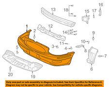 Buick GM OEM 00-05 LeSabre-Bumper Cover 25679891