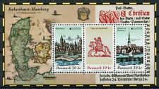 More details for denmark europa stamps 2020 mnh ancient postal routes horses architecture 3v m/s