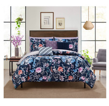 New Twin Twin Xl Size Comforter Set Floral Girl's Bed in a Bag Bedding Bedspread
