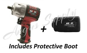"""Aircat 1178-vxl Vibrotherm Drive 1/2"""" Impact Gun Wrench With Protective Boot"""