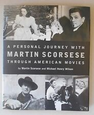 A Personal Journey with Martin Scorsese / SIGNED /  1ST ED / 1997 / HARDCOVER