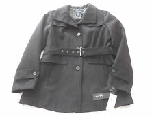 NWT  Nicole Miller New York  Women's Jacket  Sz. L   Black  NEW
