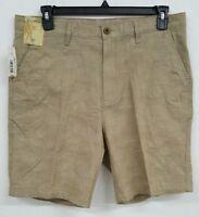 Roundtree & Yorke Caribbean Khaki Plaid Men's Shorts NWT $69.50 Choose Size