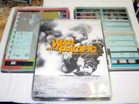 SPI Tray :  War in the Pacific - Campaign against Imperial Japan game (PUN) EX