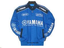 Size S  Authentic Yamaha Motocycle Embroidered Cotton Jacket