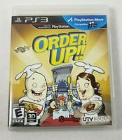 Order Up!! Sony PlayStation 3, 2012 PS3 Video Game Complete w/ Manual