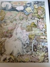 J1-2 Book Plate 6.5 X 8.5 Inches Albert Durer Madonna From A Multitude Of Animal