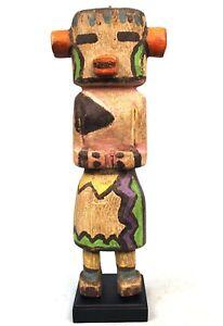 Arts Tribal Arts First - Doll Style Kachina On Base - 36 CMS