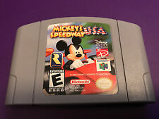 Nintendo 64 System Mickey's Speedway USA Disney Game