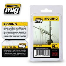 Ammo of Mig Jimenez 1:48 1:72 1:700 Rigging Wire - Super Fine Lines 0.01mm #8016
