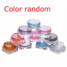 New 50 PCS 3ML Plastic Cosmetic Small Sample Jars Three Gram Makeup Containers