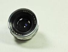 Vintage VOIGTLANDER LENS HEAD  SEPTON 1:2/50 Standard lens  USER FUGLY