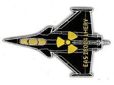 patch rafale couleur noir, avec symbole NUC. Unité basé à SAINT DIZIER BA113