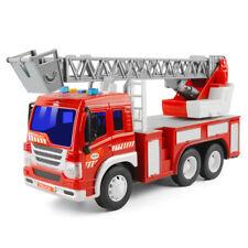 Jungen Kinder Spielzeug Feuerwehrauto Modelle mit Licht und Sound LKW Lernspielz