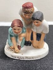1979 Norman Rockwell Marble Players Figurine by Dave Grossman Nr 211